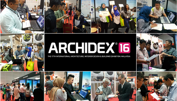 ZWCAD was Presented at Archidex 2016 in Malaysia