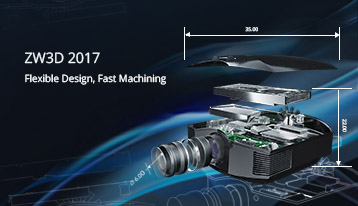 ZW3D 2017: Flexible Sheet Metal Module and Boosted CAM Module