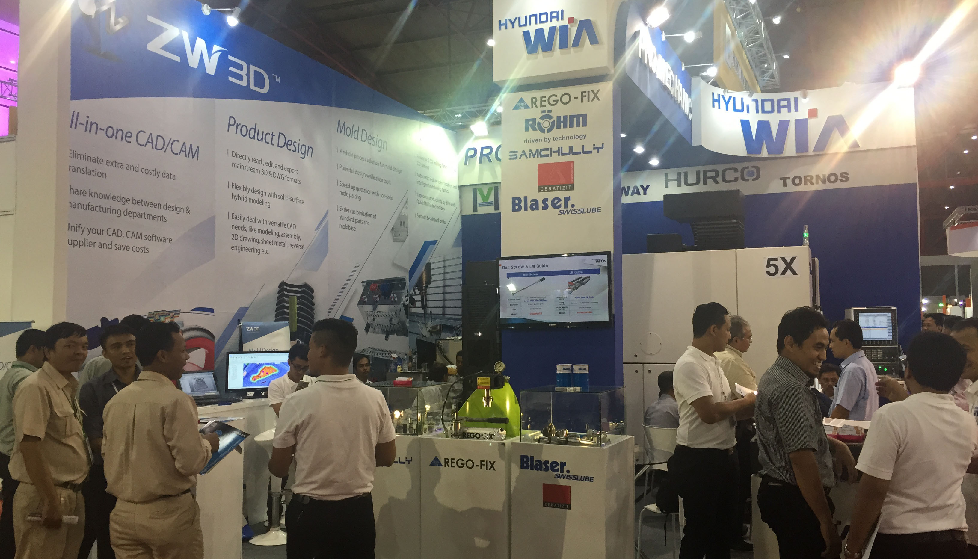 Pro Mechanic Presented at Manufacturing Indonesia, 2016