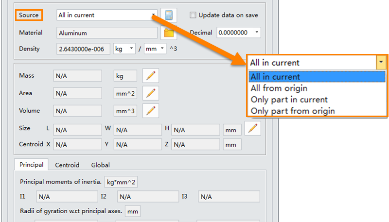 ZW3D Tips: Differences of Physical Attribute Sources