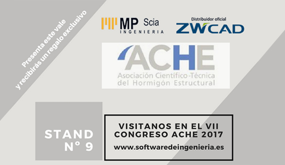 ZWCAD will be presented by ZWSPAIN at ACHE 2017