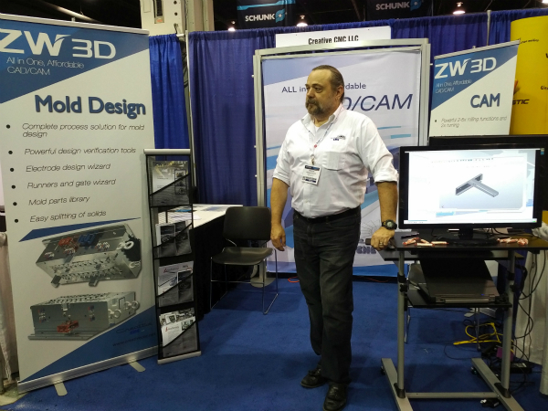 ZW3D Showed at Amerimold 2017, USA