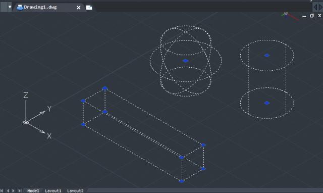 Các đường vẽ CAD cơ bản