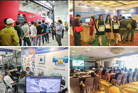 ZW3D Global Tour: Offering Latest CAD/CAM Technologies to the World