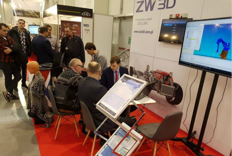 ZW3D was shown at Eurotool Fair 2017 in Poland