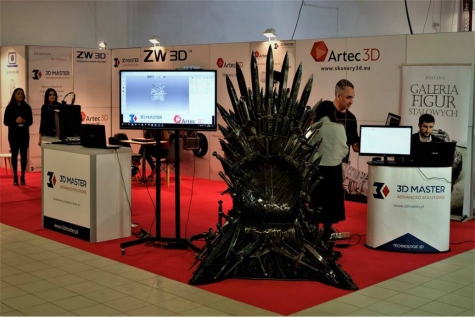 ZW3D was Shown at Warsaw Industry Week 2017,Poland