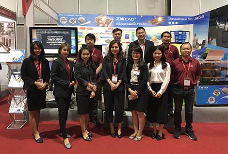 ZW3D was Shown in Thailand