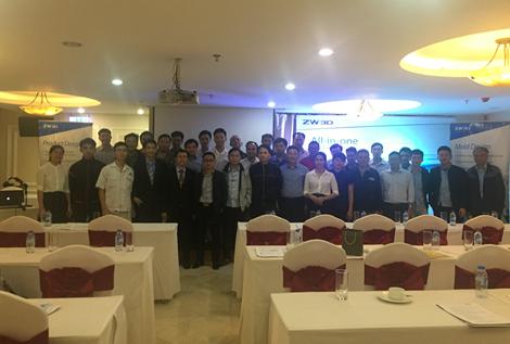 ZW3D 2018 Launch Seminar in Vietnam