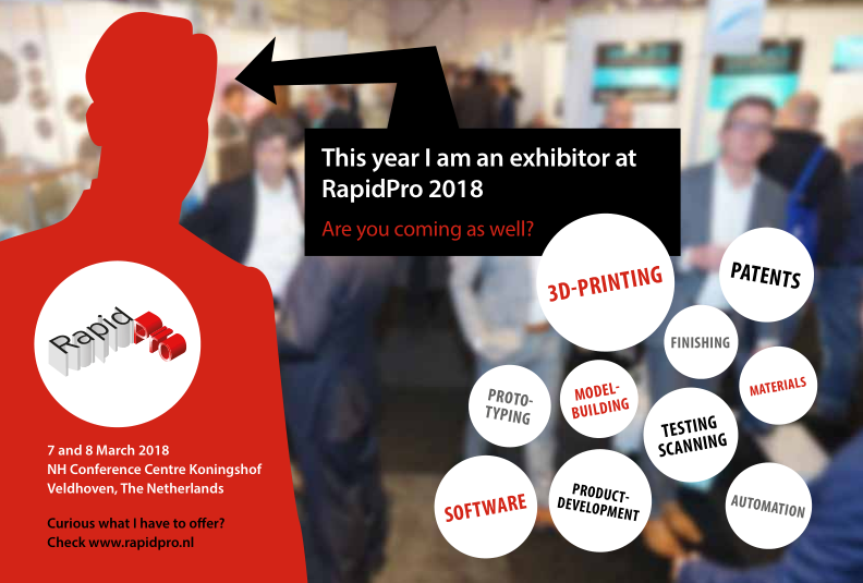 ZW3D was Shown at RapidPro 2018 Netherlands