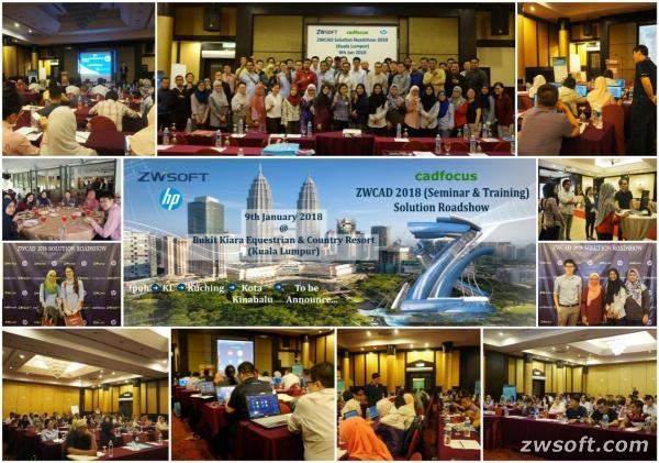 The roadshow held in Kuala Lumpur