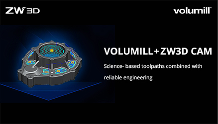 ZWSOFT Signs VoluMill™ Licensing Agreement to Enhance ZW3D CAM