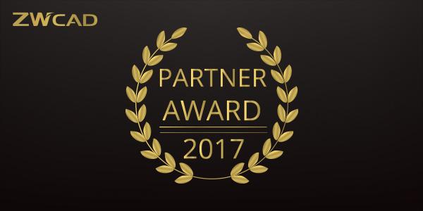 ZWCAD PARTNER AWARD 2017