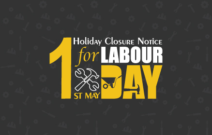 Holiday Closure Notice for Labor Day