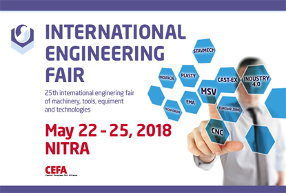 ZW3D was Shown at International Engineering Fair 2018 in Nitra, Slovakia