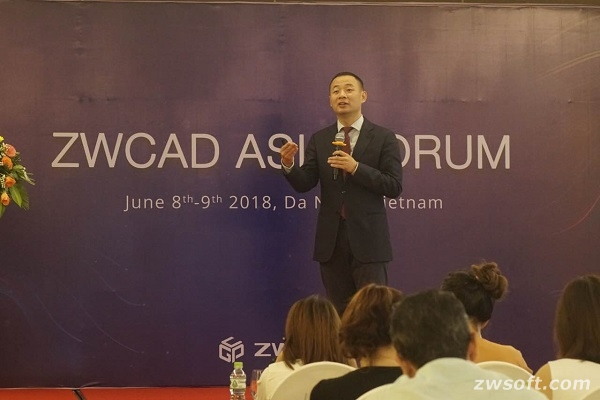 ZWCAD Asia Forum-CEO