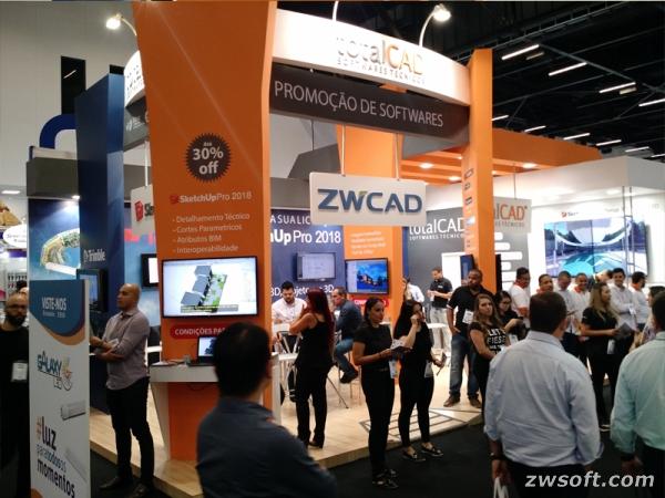 ZWCAD Brazil Exhibition